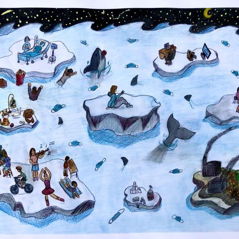 10-Gemma Rudnicki, Les glaciers de la pa