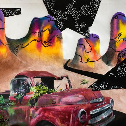 9-9 Sasha Wiens-Vielle auto dans les mon