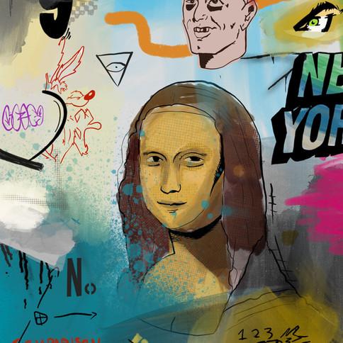 9-Oscar Protic, Copie de la Mona Lisa, A