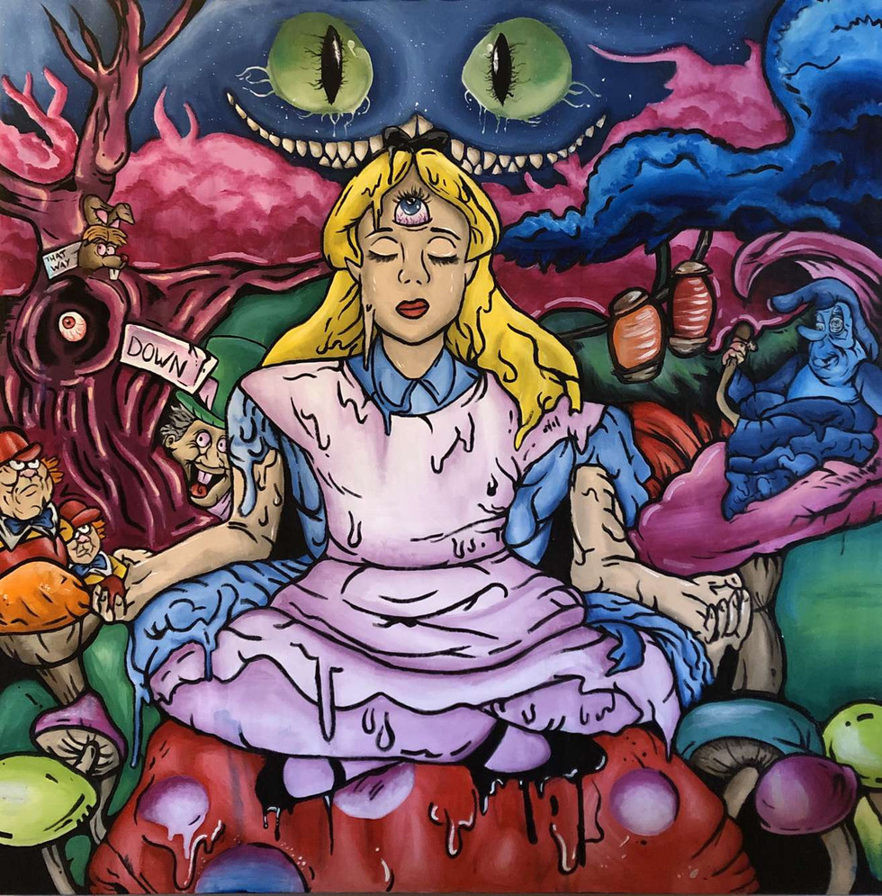Taylor Carruthers - Alice (Acrylique)