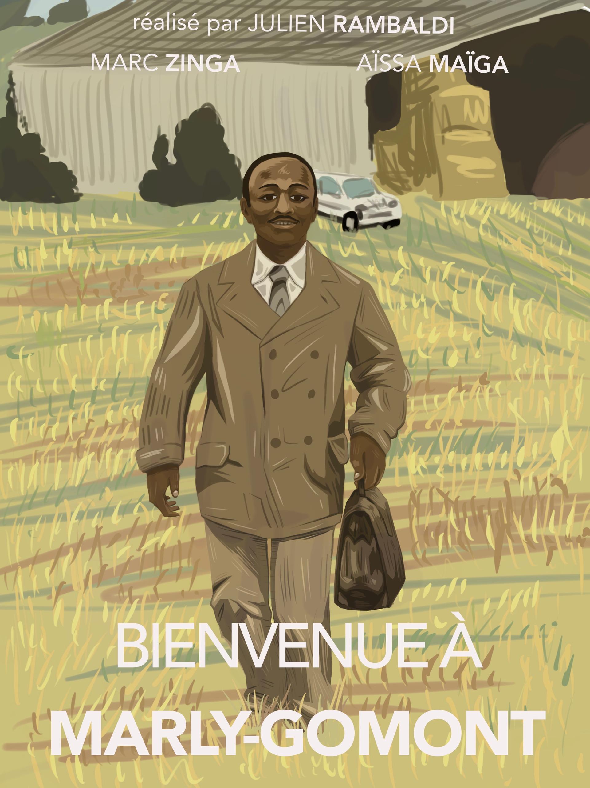 Tallulah Blais - Bienvenue à Marly-Gomon (Art numérique)