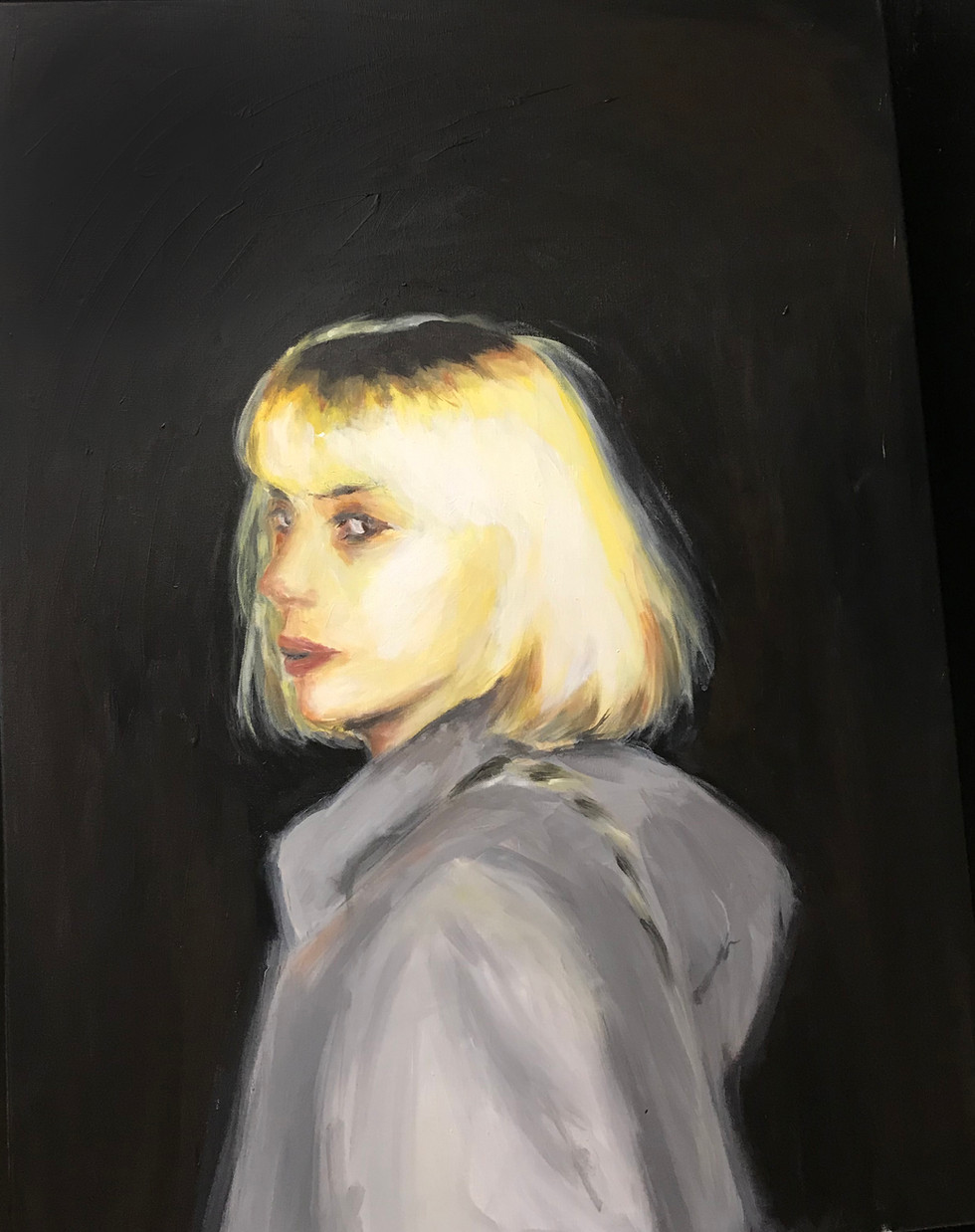 Grace Pham - Peinture en mouvement (Acrylique)