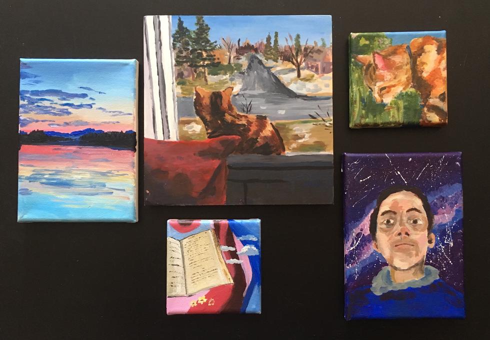Créa Ferguson - Une journée en peintures (Acrylique)