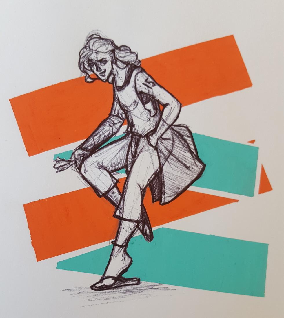 Margaret Rossi (Techniques mixtes)