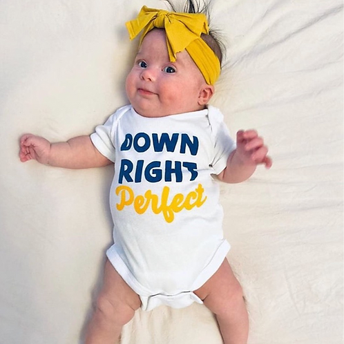 Down Right Perfect Onesie