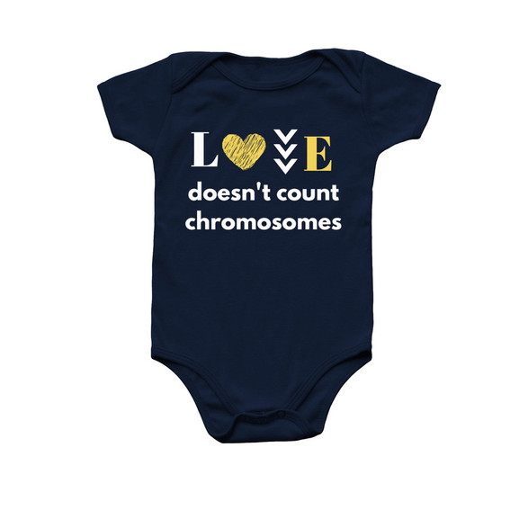 Onesie: Love Doesn't Count Chromosomes
