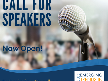 Call for Speakers Announced for 2019 Emerging Trends in Wellness Conference