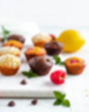 Choco chip muffins vegan