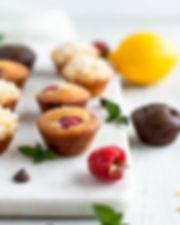 Raspberry Muffins Vegan