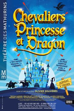 Chevaliers Princesse et Dragon
