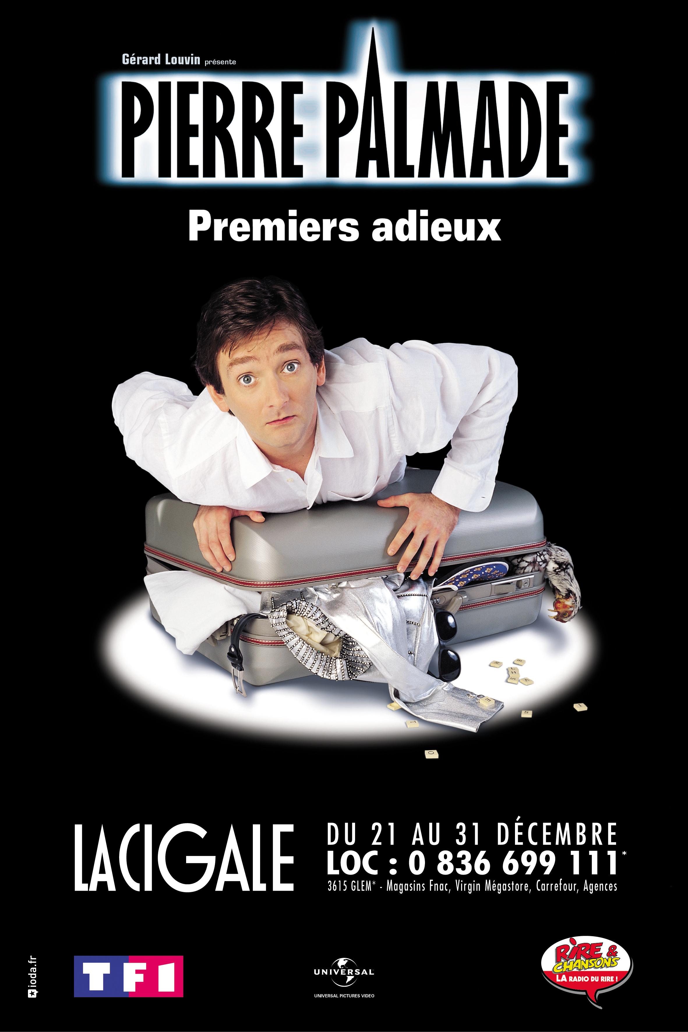 """Pierre Palmade """"Premiers Adieux"""""""