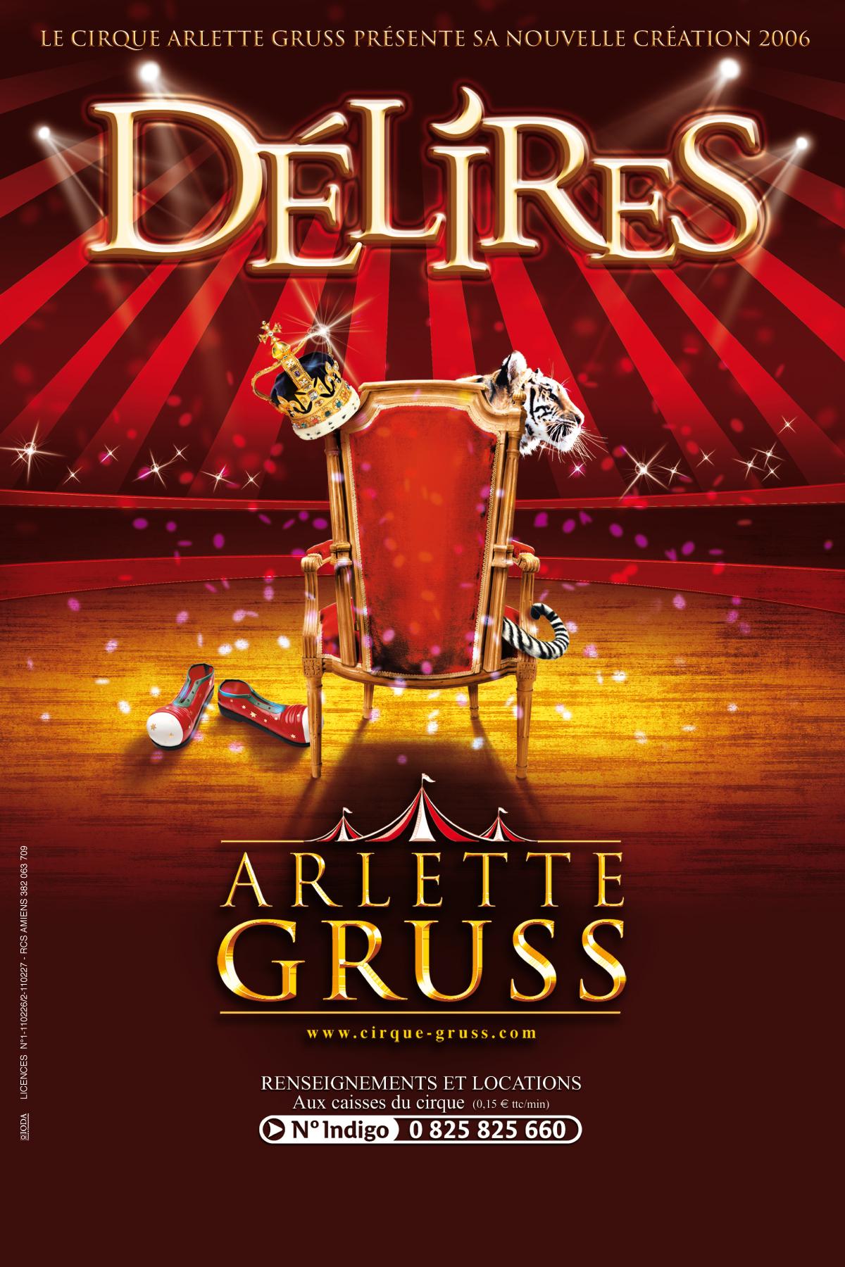 Délires - Cirque Arlette Gruss