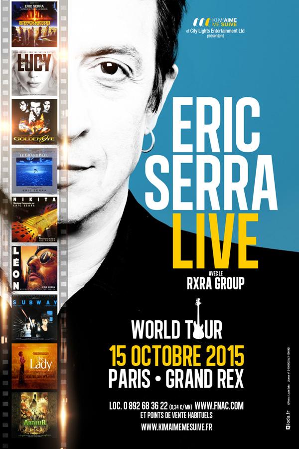 ERIC SERRA LIVE