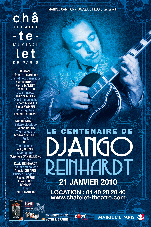 Le centenaire de Django Reinhardt