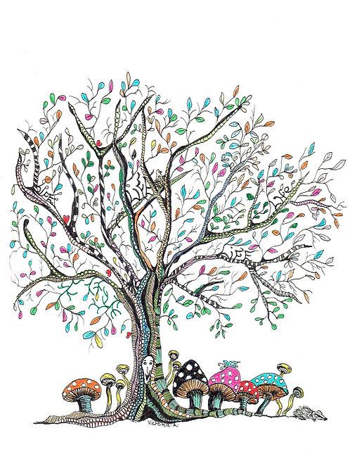 Tree of Life - Canvas print