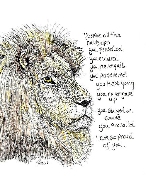 Pride - Canvas print