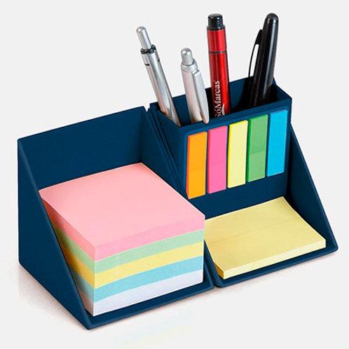 Bloco Cubo para Anotações e Porta Canetas