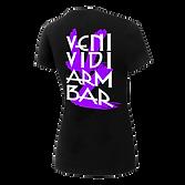 Violet Zante T Shirt Women back black.pn