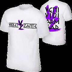 Violet Zante T Shirt white.png