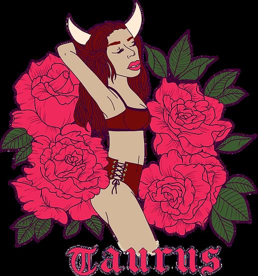 Taurus Crop Hoodie