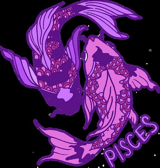 Pisces Crop Hoodie