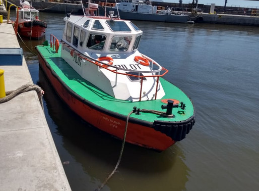 Esta semana hemos partido con un nuevo tipo de embarcación...