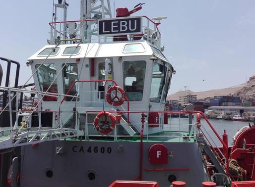 Ayer terminamos la tercera embarcación con el complemento para combatir el fouling...