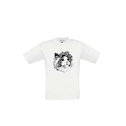 Kids Size - Aurora Crown Tattoo Tee