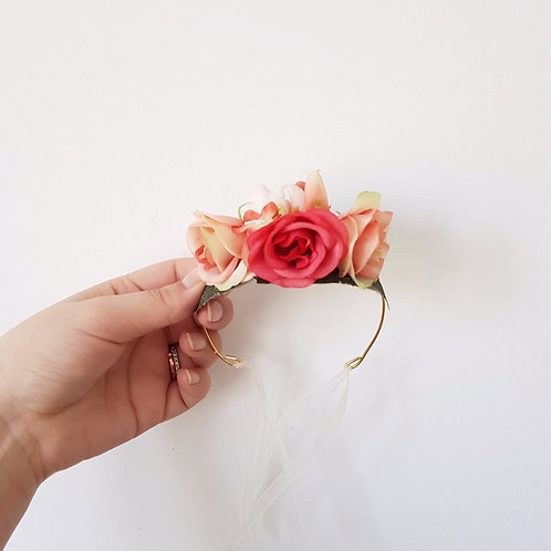 Hand Made Pet Flower Crown