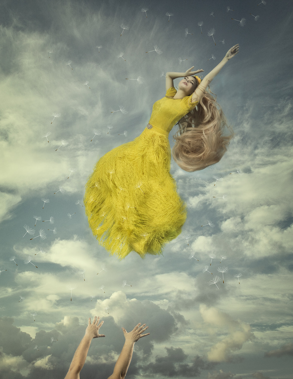 Princess Dandelion / And the wind blows her away