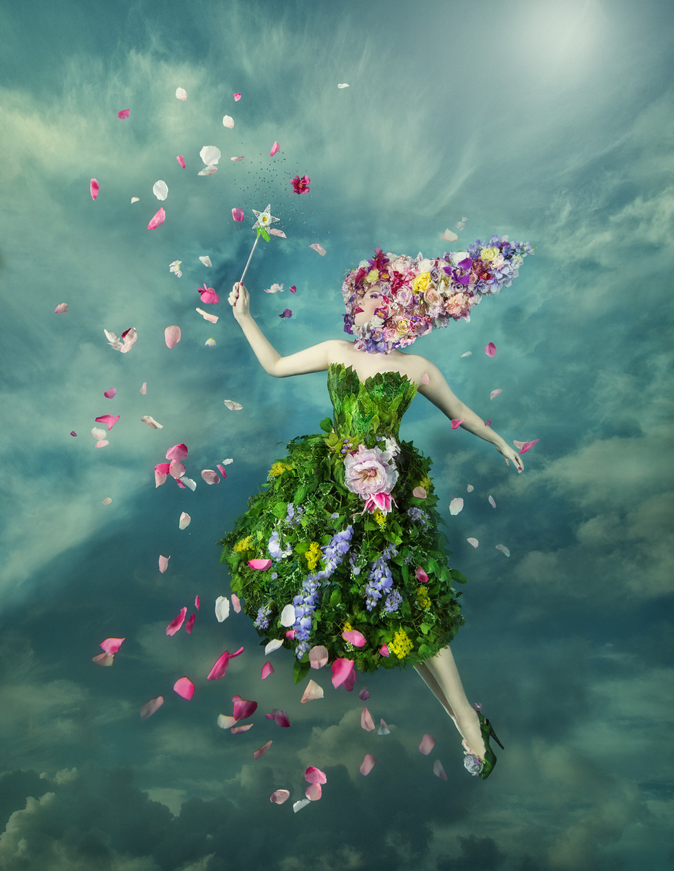 FLORA / the flower fairy /Welcome Spring!