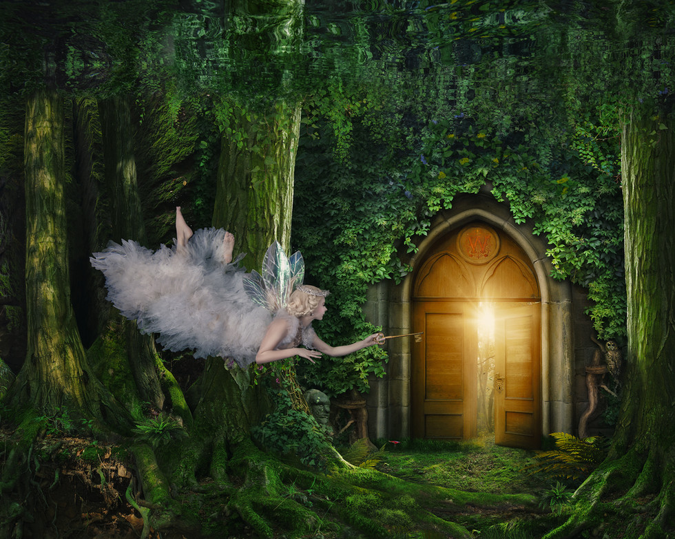 Queen of the Fairies Mab and the Gate to the Waterland