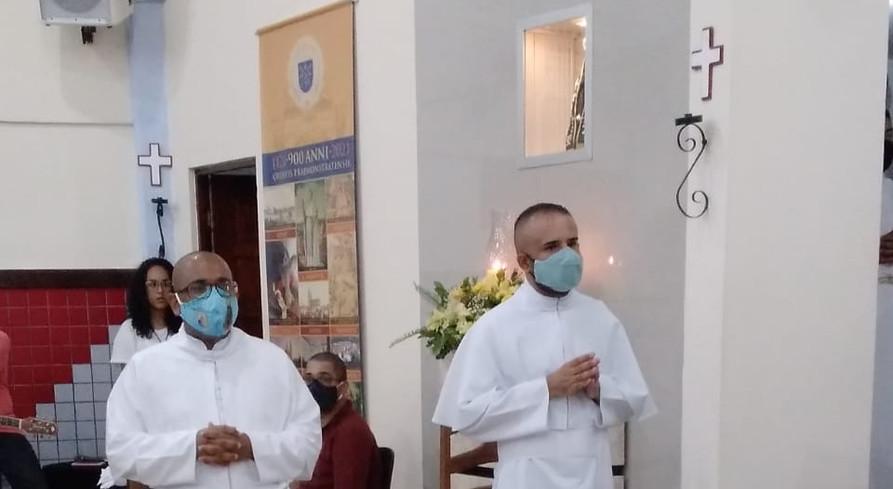 Fr. Isaías e Fr. Hermano