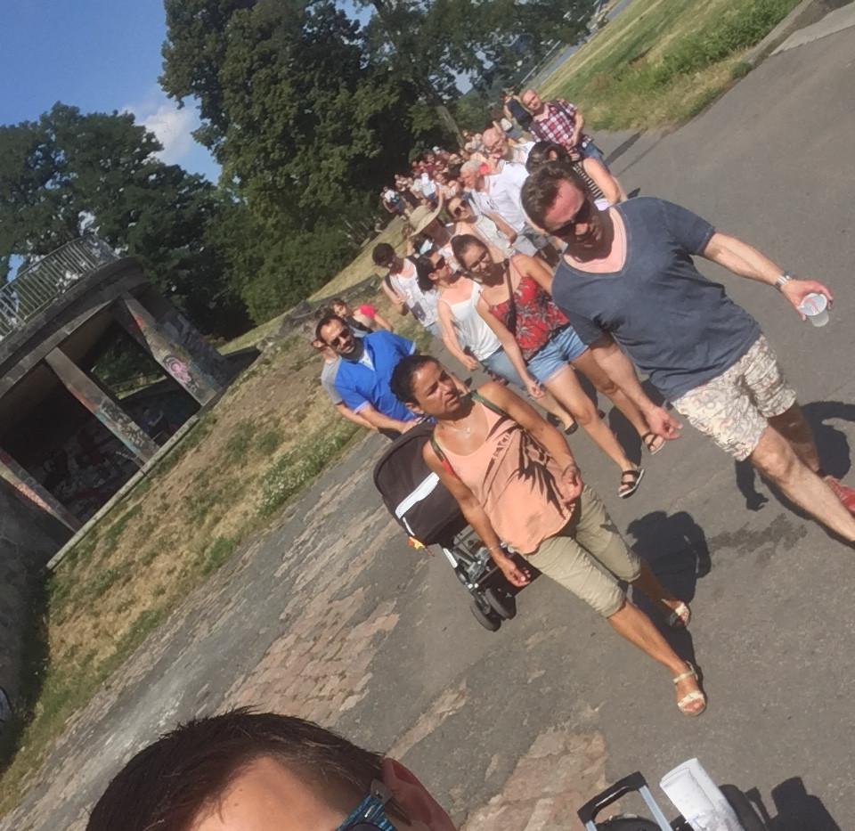 Salsa Spaziergang Dresden