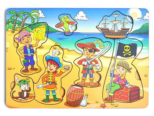 """Рамка-вкладка """"Дети пираты"""""""