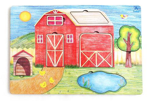 """Рамка-вкладка """"Дом фермера"""""""