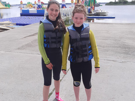 5th and 6th Class Trip to Baysports Outdoor Waterpark, Athlone