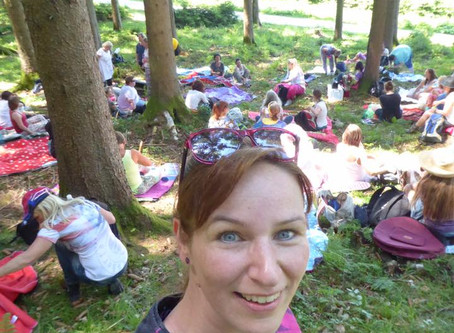 Frauenheilkreis Untersberg von Christina Isabella Salopek mit rund 70 (!) Frauen 28.05.2017