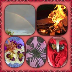 Frauenkreis Feuer