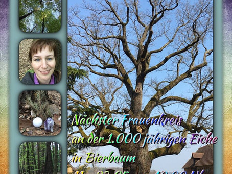 Frauenkreis bei der 1.000-jährigen Eiche in Bierbaum/Stmk. ELEMENT ERDE