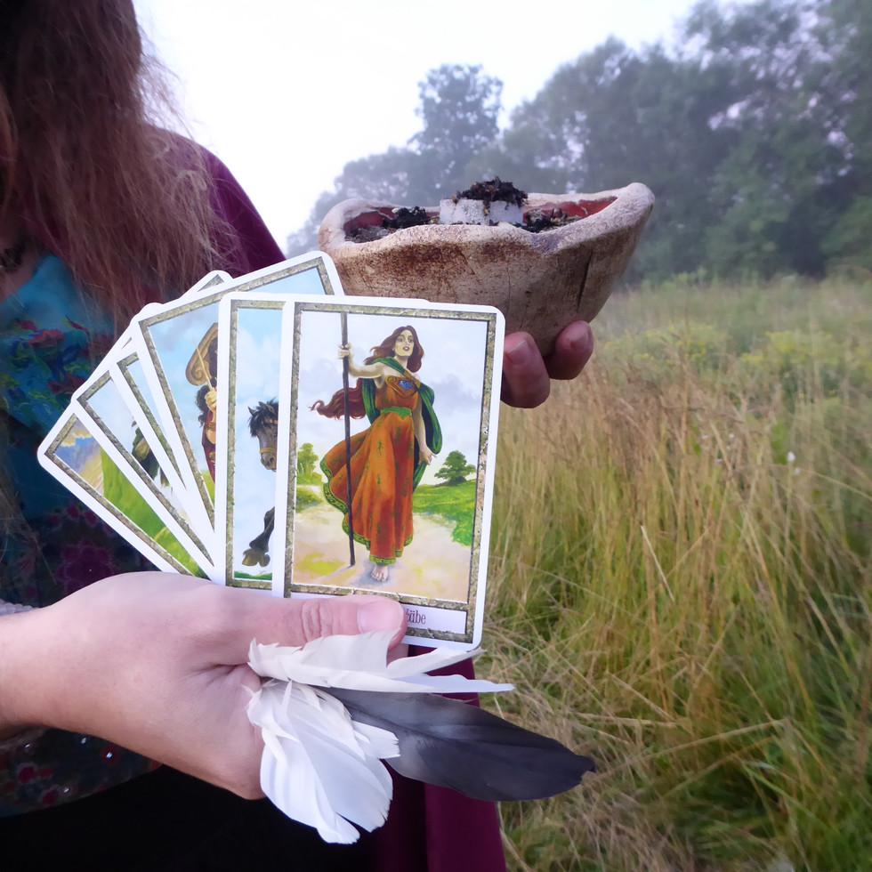 Kartenlegung