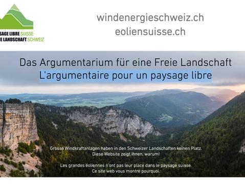 L'argumentaire pour un paysage libre, sans éoliennes