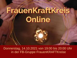 Erster FrauenKRAFTKreis Online 14.10.2021