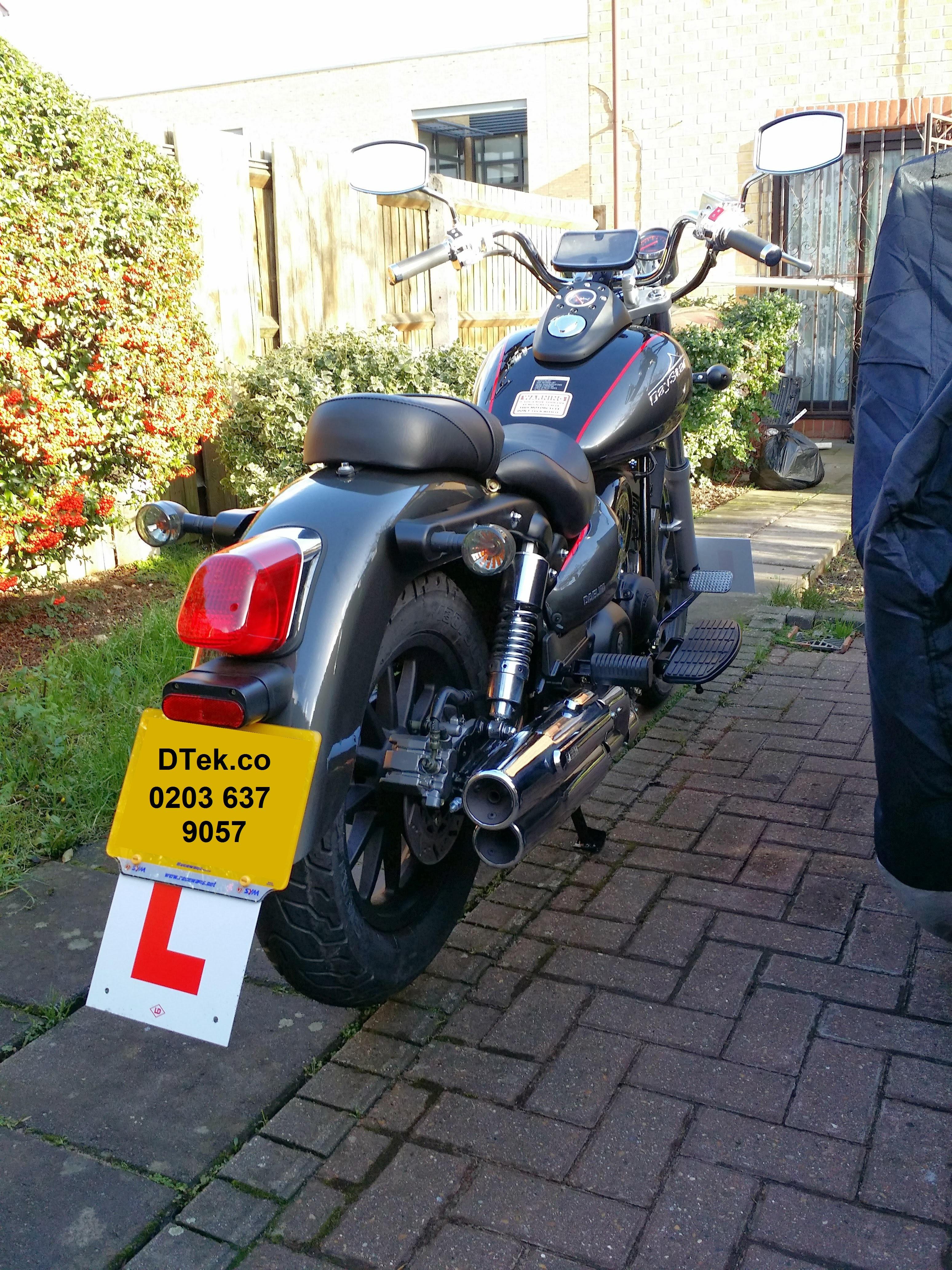 Motorbike GPS Tracker + Fitting