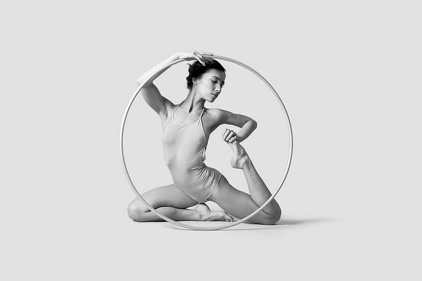 Dancer with Hoop