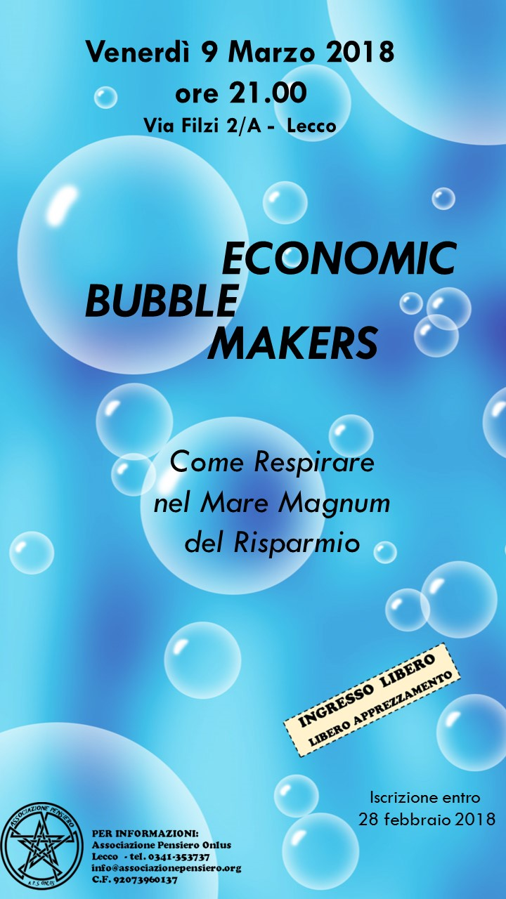 Economic Bubble Makers