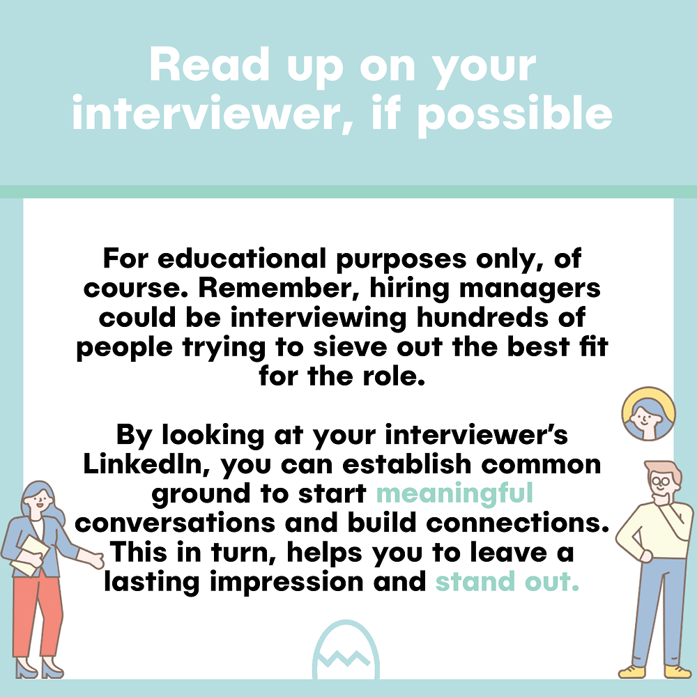 Researching your interviewer tips