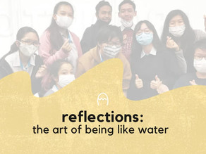 Reflections | The art of being like water