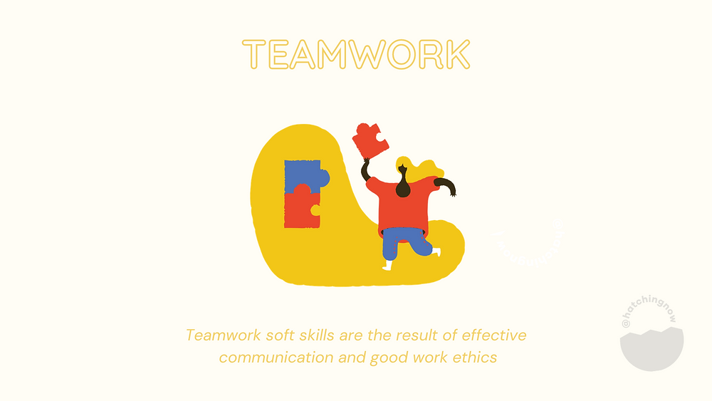 Teamwork soft skills