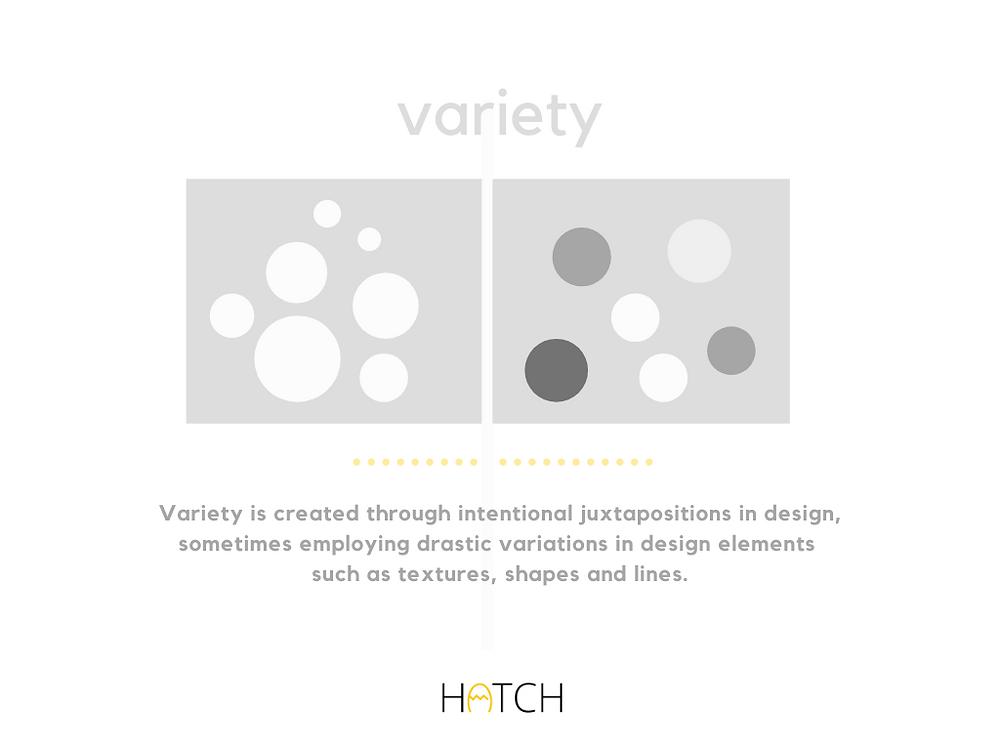 variety design principle
